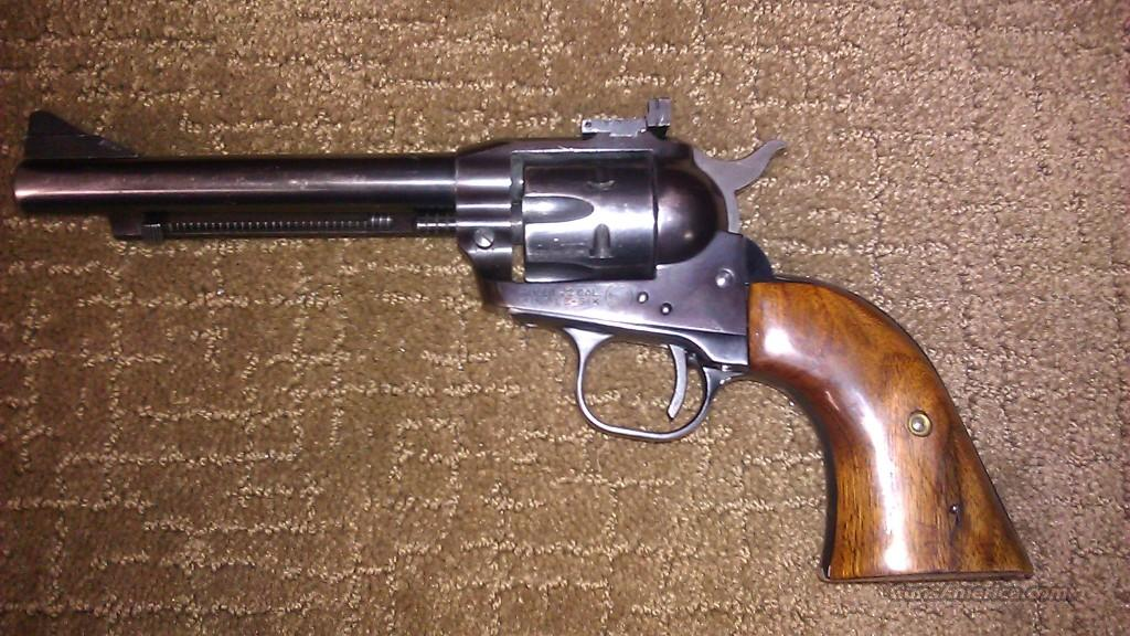 Micro Sight Ruger Single Six from 1956  Guns > Pistols > Ruger Single Action Revolvers > Single Six Type