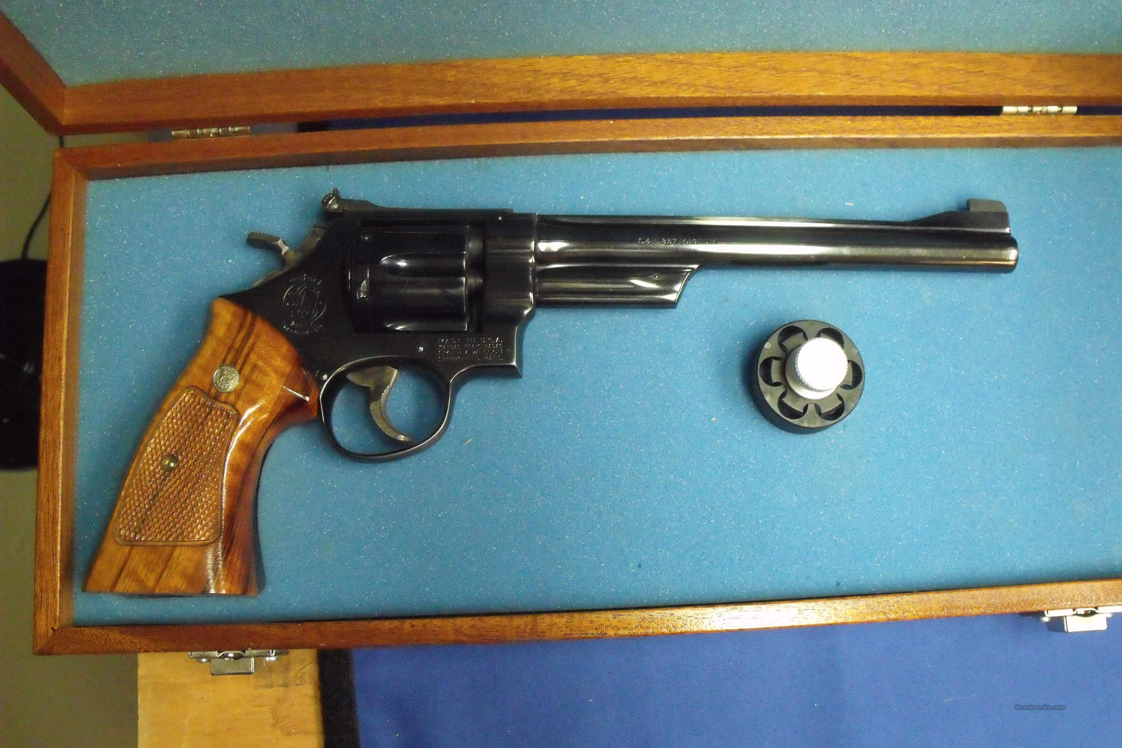 "Smith&Wesson .357 cal / 8-3/8"" model 27  Guns > Pistols > Smith & Wesson Revolvers > Full Frame Revolver"