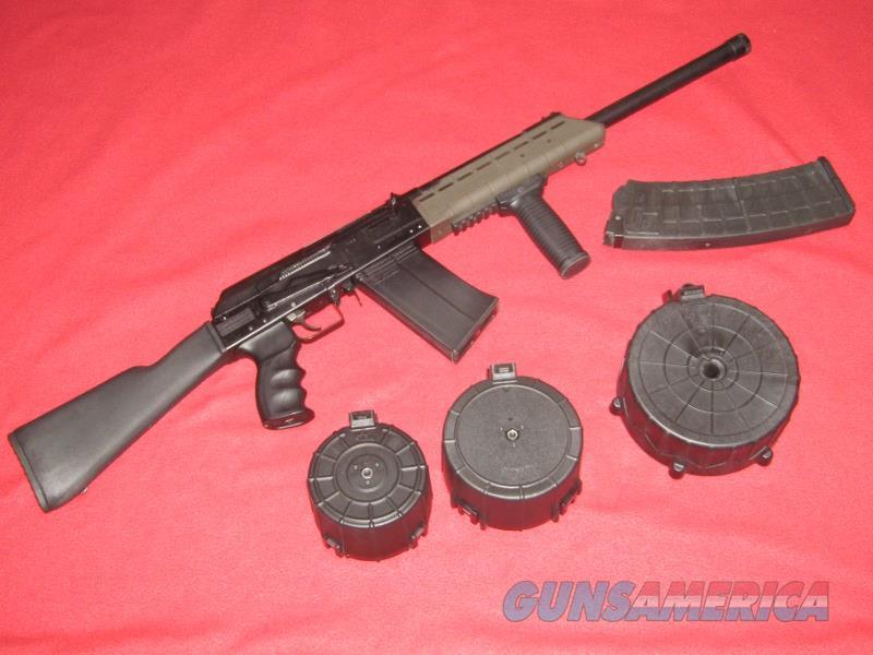 Izhmash Saiga-12 Shotgun (12 Ga.)  Guns > Shotguns > Saiga Shotguns > Shotguns