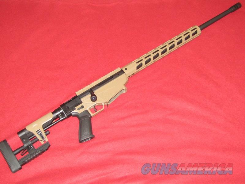 "Ruger Precision Gen. 2 ""Barrett Brown"" Rifle (6.5 Creedmoor)  Guns > Rifles > Ruger Rifles > Precision Rifle Series"
