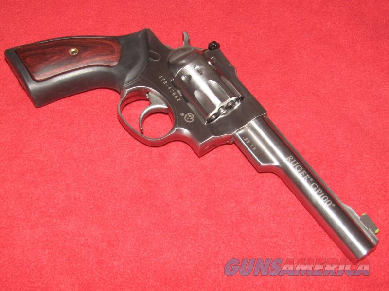 Ruger GP100 Revolver (.22 LR)  Guns > Pistols > Ruger Double Action Revolver > GP100