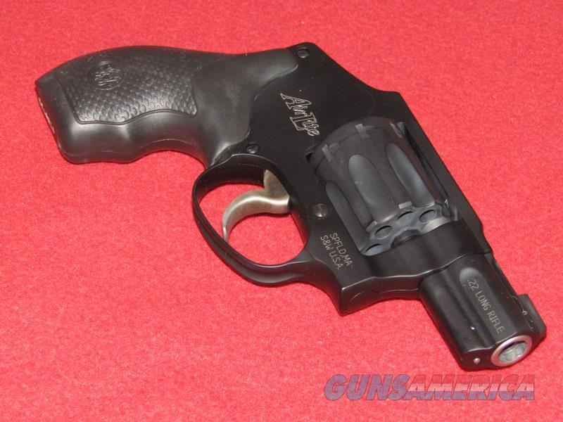 S&W M43C AirLite Revolver (.22 LR)  Guns > Pistols > Smith & Wesson Revolvers > Small Frame ( J )