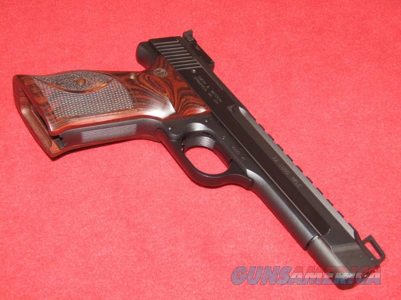 S&W 41 Performance Ceneter Pistol (.22 LR)  Guns > Pistols > Smith & Wesson Pistols - Autos > .22 Autos