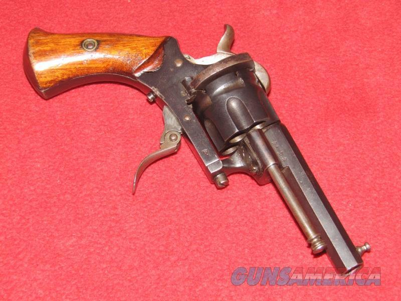 Belgian Pin Fire Revolver (7.5mm)  Non-Guns > Black Powder Cartridge
