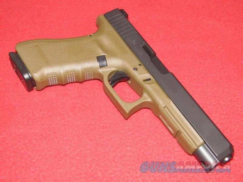 Glock 34 Gen 4 Pistol (9mm)  Guns > Pistols > Glock Pistols > 34