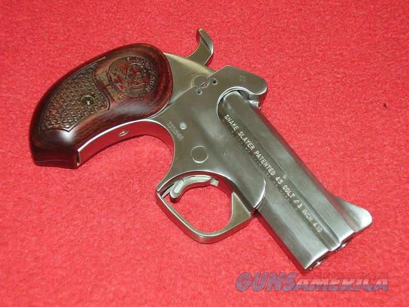 Bond Arms Snake Slayer Derringer (.45 Colt/.410)  Guns > Pistols > Bond Derringers