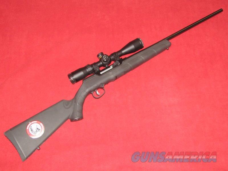 Savage A17 Rifle (.17 HMR)  Guns > Rifles > Savage Rifles > Rimfire