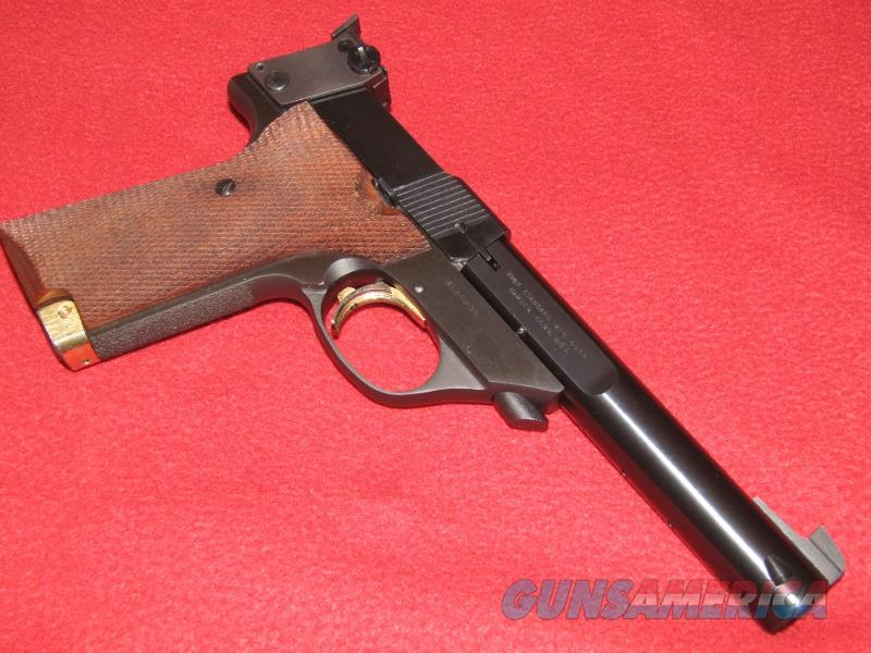 High Standard Supermatic Military Trophy Pistol (.22 LR)  Guns > Pistols > High Standard Pistols