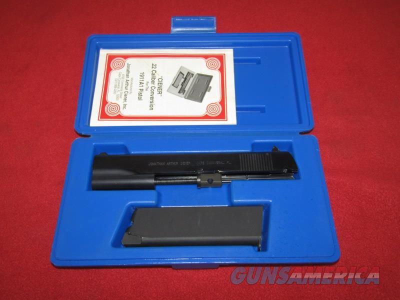 Ciener 1911A1 .22 LR Conversion Unit  Non-Guns > Gun Parts > 1911