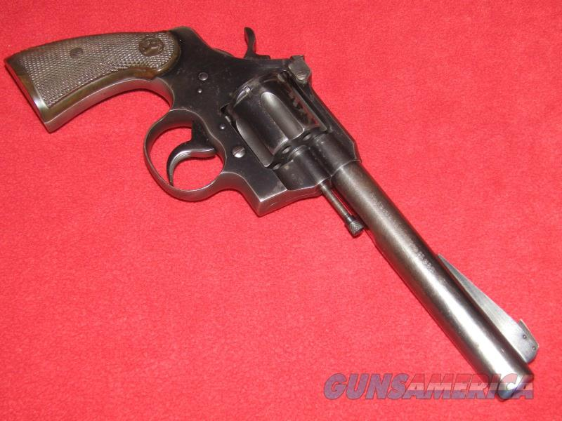 Colt Officer Model Special 4th Issue Revolver (.22 LR)  Guns > Pistols > Colt Double Action Revolvers- Modern