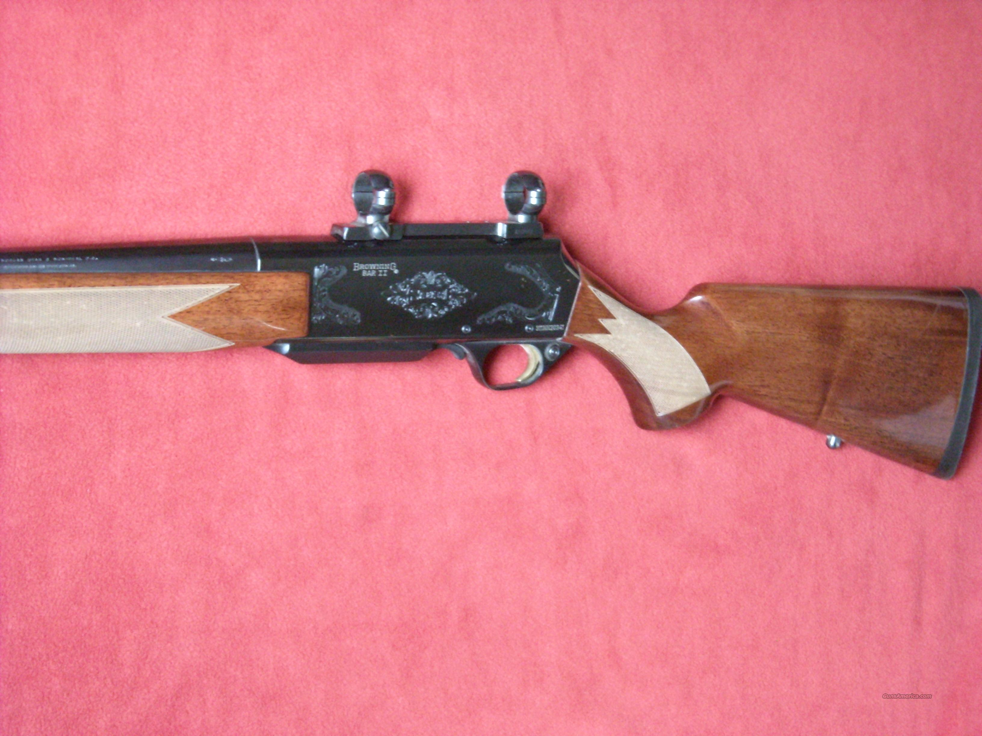 Browning BAR II Safari w/BOSS 7mmRemMag  Guns > Rifles > Browning Rifles > Semi Auto > Hunting