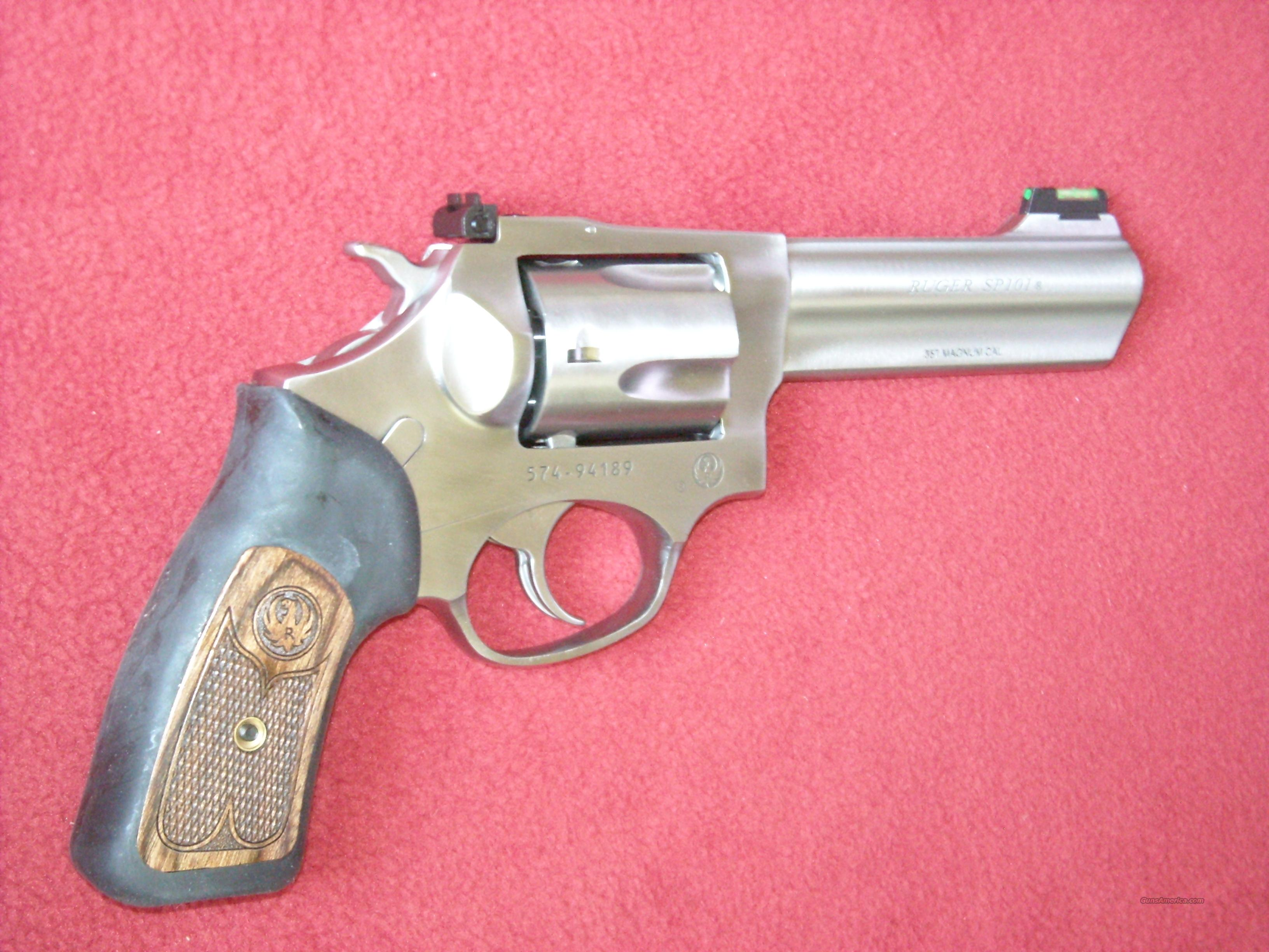 Ruger SP101  .357Mag  Guns > Pistols > Ruger Double Action Revolver > SP101 Type