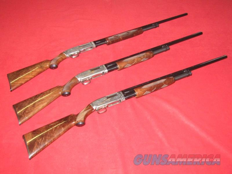 "Browning Ducks Unlimited Model 12 Shotguns ""Three Piece Set"" (.410/28 Ga./20 Ga.)  Guns > Shotguns > Browning Shotguns > Pump Action > Hunting"