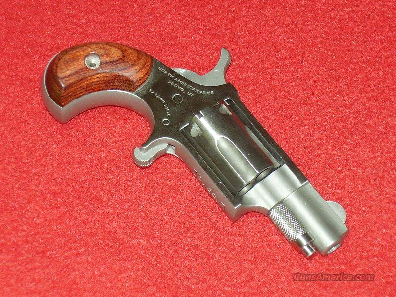 N.A.A. Mini Revolver (.22 LR)  Guns > Pistols > North American Arms Pistols