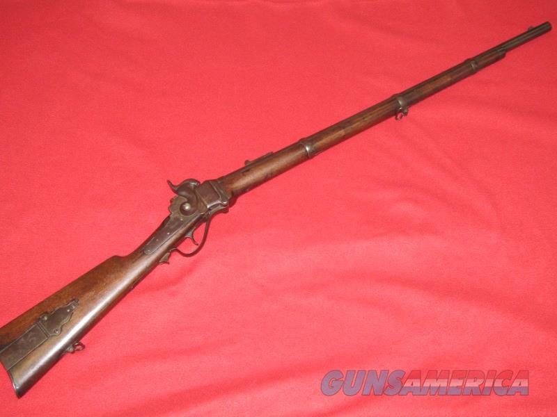 C. Sharps 1863 New Model Rifle (.52 Cal.)  Non-Guns > Black Powder Cartridge