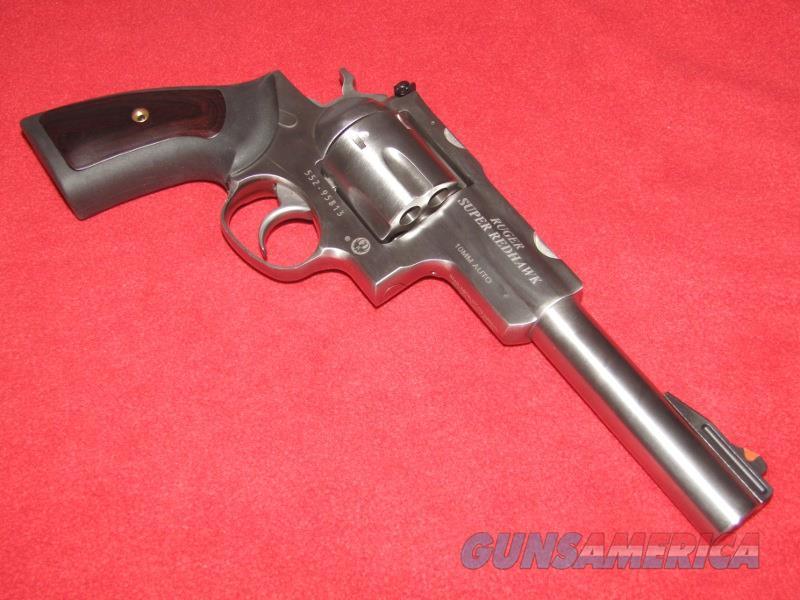 Ruger Super Redhawk Revolver (10mm)  Guns > Pistols > Ruger Double Action Revolver > Redhawk Type