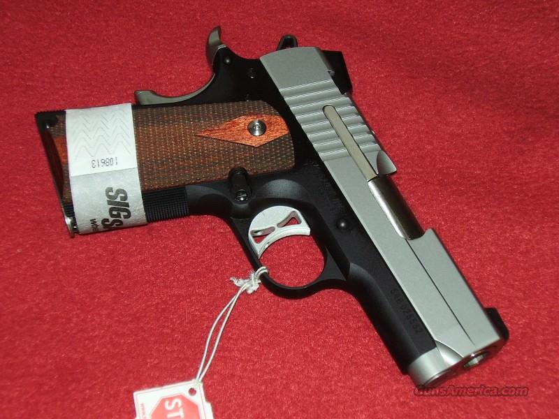 Sig-Sauer 1911 Ultra Compact Pistol (.45 ACP)  Guns > Pistols > Sig - Sauer/Sigarms Pistols > 1911