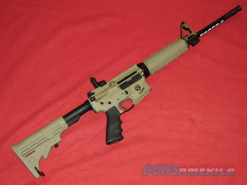 Ruger AR556 Rifle (5.56mm)  Guns > Rifles > Ruger Rifles > SR Series