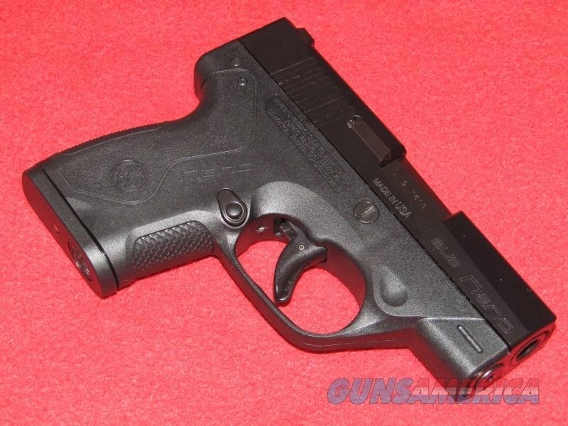 Beretta BU 9 Nano Pistol (9mm)  Guns > Pistols > Beretta Pistols > Polymer Frame