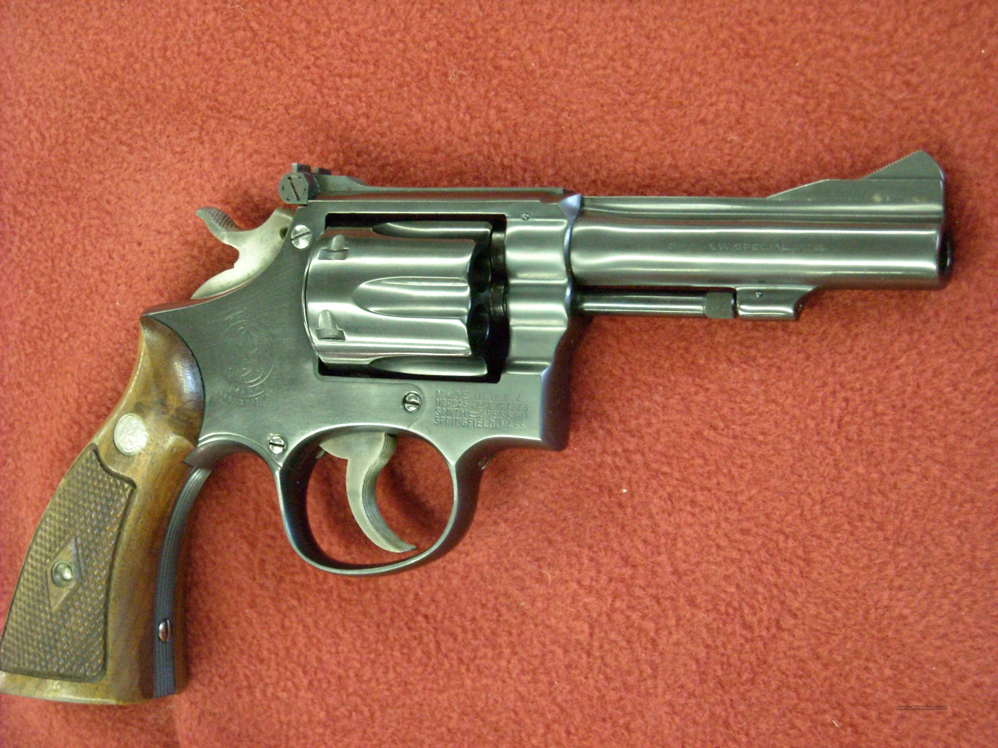 Smith $ Wesson K-38 Combat Masterpiece  Guns > Pistols > Smith & Wesson Revolvers > Full Frame Revolver