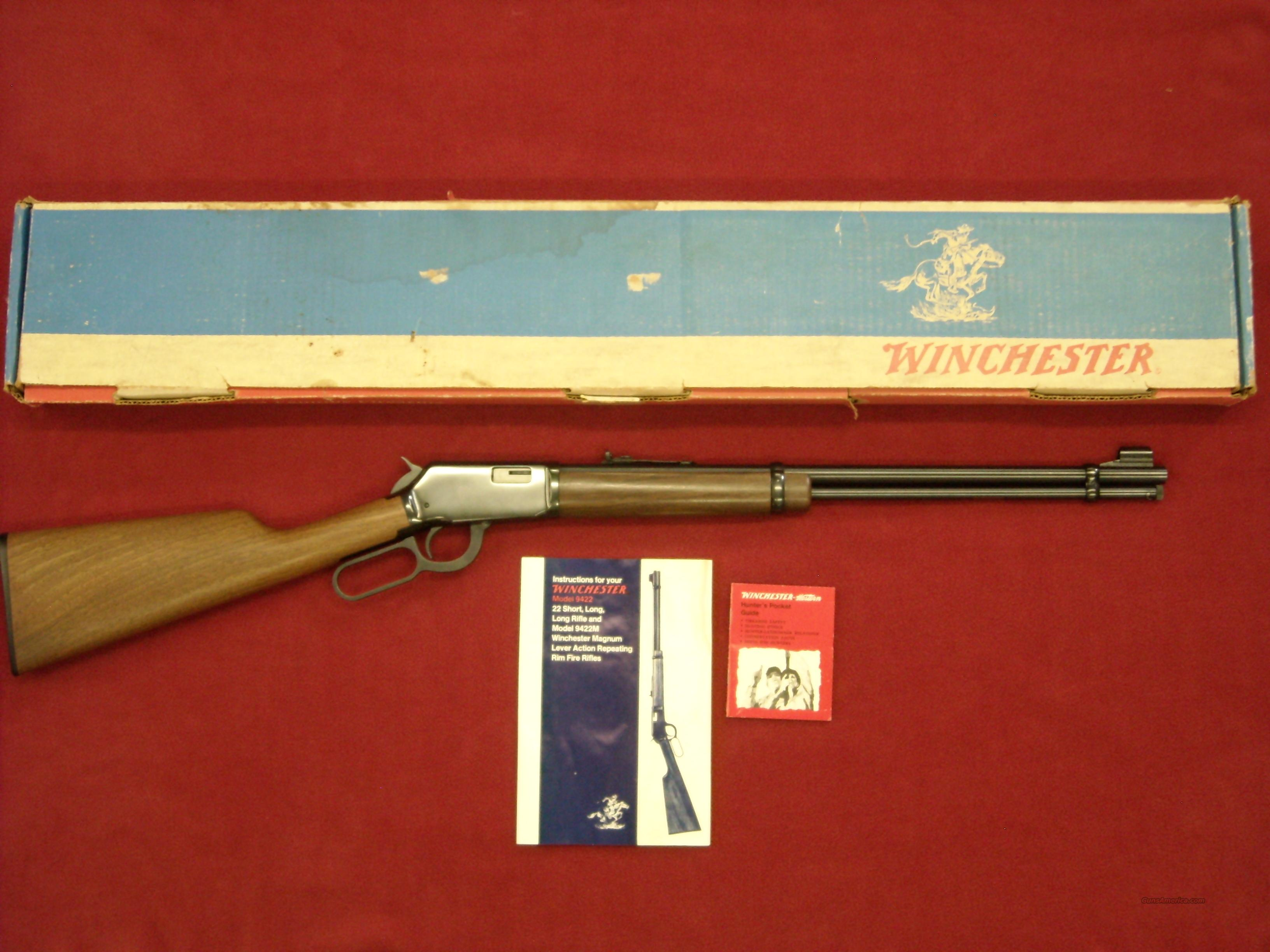 Winchester Model 9422 .22 S-L-LR  Guns > Rifles > Winchester Rifles - Modern Lever > Other Lever > Post-64