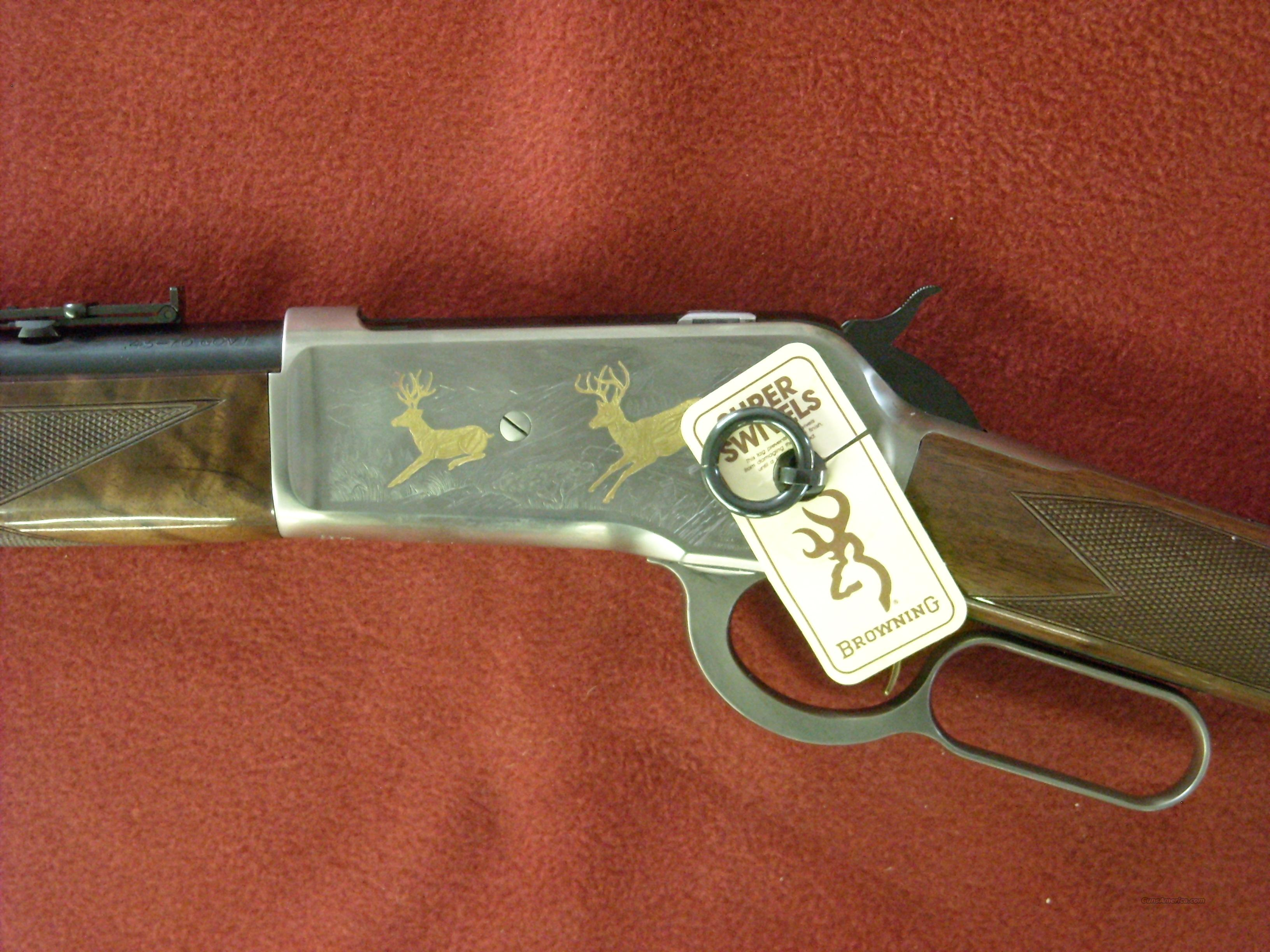 Browning 1886 SRC High Grade  Guns > Rifles > Browning Rifles > Lever Action
