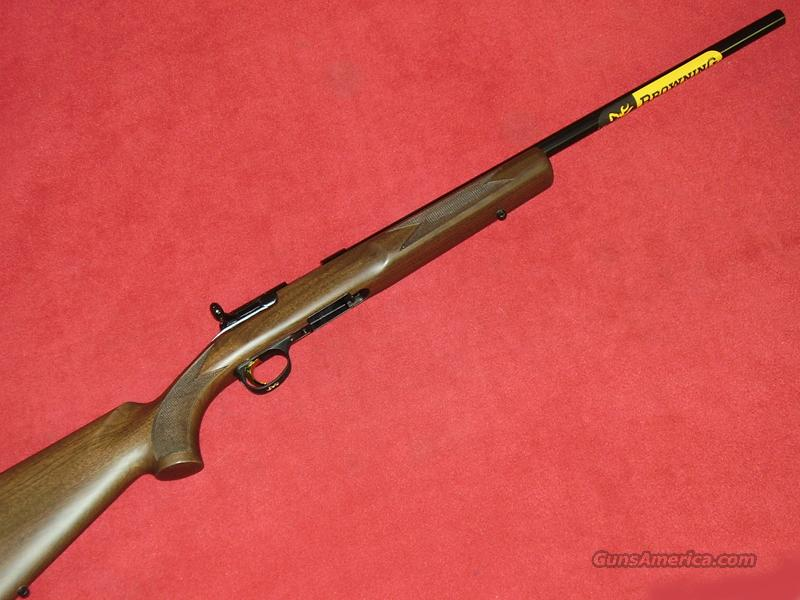 Browning TGT Varmint Rifle (.17 HMR)  Guns > Rifles > Browning Rifles > Bolt Action > Hunting > Blue