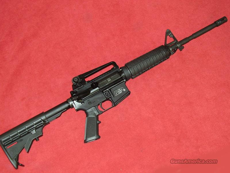 S&W M&P-15 Rifle (5.56)  Guns > Rifles > Smith & Wesson Rifles > M&P