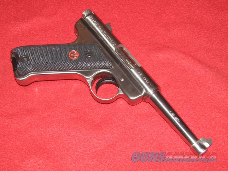 Ruger MK I RST-4 Pistol (.22 LR)  Guns > Pistols > Ruger Semi-Auto Pistols > Mark I/II/III/IV Family