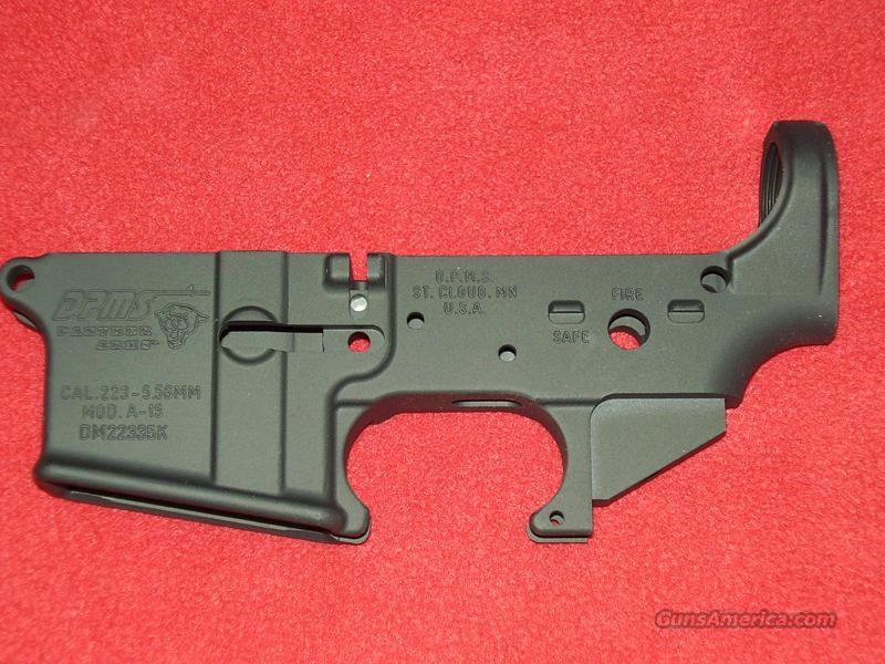 DPMS/Panther Arms A-15 Stripped Lower  Guns > Rifles > DPMS - Panther Arms > Lower Only
