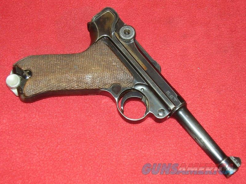 German 1939 Luger Pistol (9mm)  Guns > Pistols > Luger Pistols