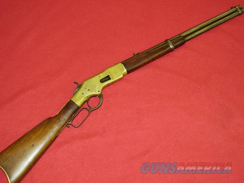 "Winchester 1866 ""Yellow Boy"" Saddle Ring Carbine (.44 Henry)  Guns > Rifles > Winchester Rifles - Pre-1899 Lever"