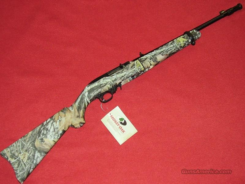 Ruger 10-22 Camo Takedown Rifle (.22 LR)  Guns > Rifles > Ruger Rifles > 10-22