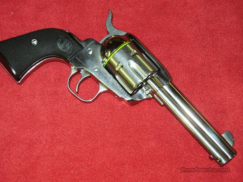 Ruger Stainless Steel Vaquero Revolver (.45 Colt)  Guns > Pistols > Ruger Single Action Revolvers > Cowboy Action