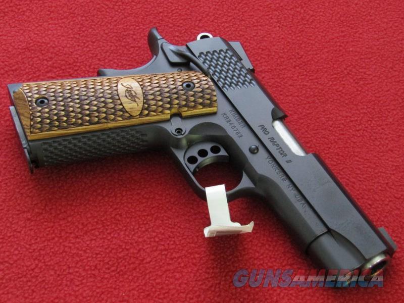 Kimber Pro Raptor II 1911 Pistol (.45 ACP)  Guns > Pistols > Kimber of America Pistols > 1911