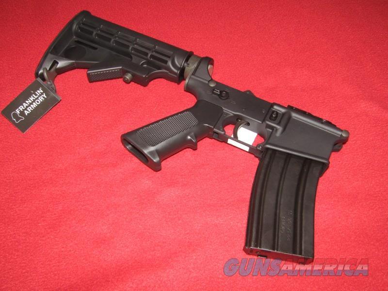 Franklin Armory FAI-15 Assembled Lower Receiver (AR-15)  Guns > Rifles > F Misc Rifles