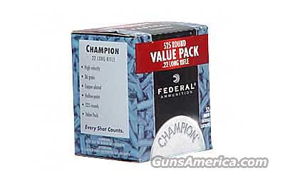 Federal .22LR, 525 Round Box  Non-Guns > Ammunition