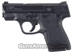 S&W M&P Shield 9mm.  Guns > Pistols > Smith & Wesson Pistols - Autos > Shield