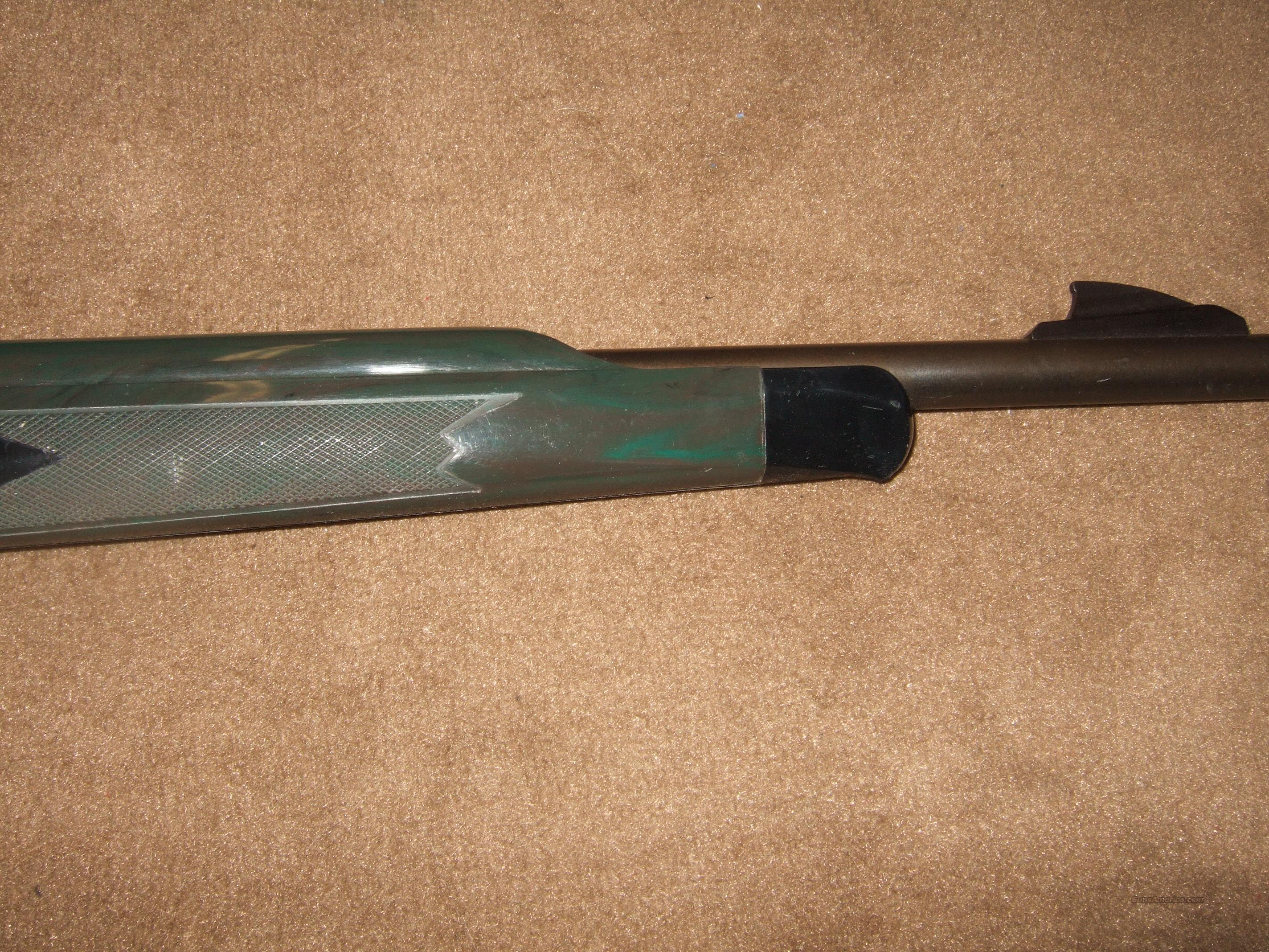 Remington Apache 77, Green Stock .22 Rifle  Guns > Rifles > Remington Rifles - Modern > .22 Rimfire Models