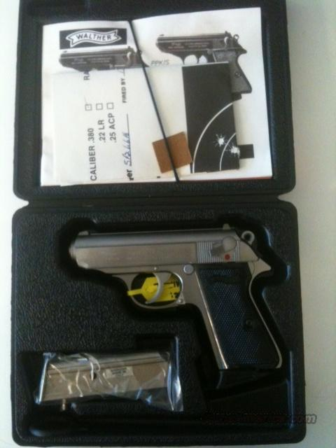 Walther PPK/S, Stainless, .380acp  Guns > Pistols > Walther Pistols > Post WWII > PPK Series