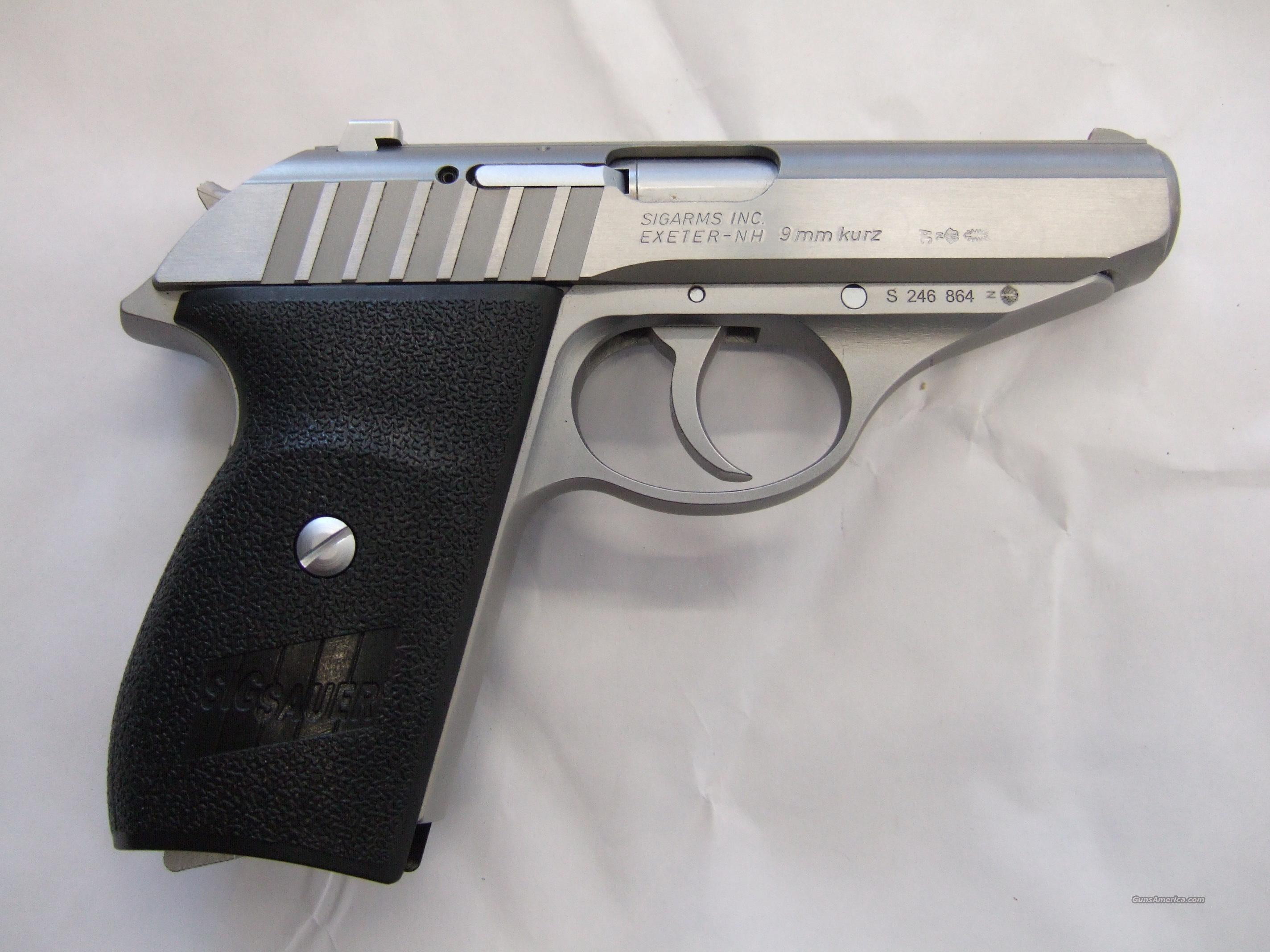 Sig Sauer p232, Stainless Steel, .380Acp  Guns > Pistols > Sig - Sauer/Sigarms Pistols > P232