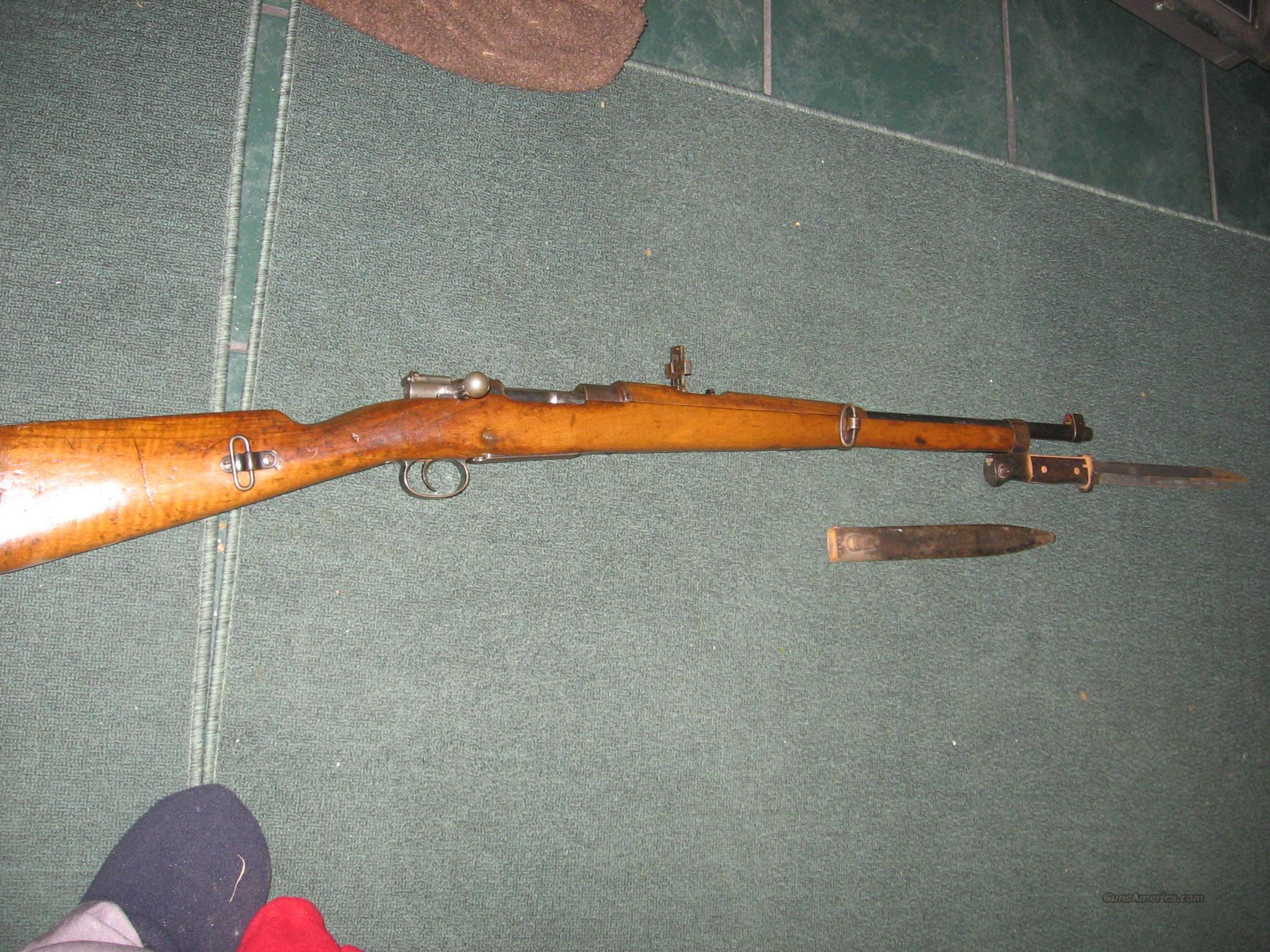 7mm Mauser  Guns > Rifles > Mauser Rifles > German