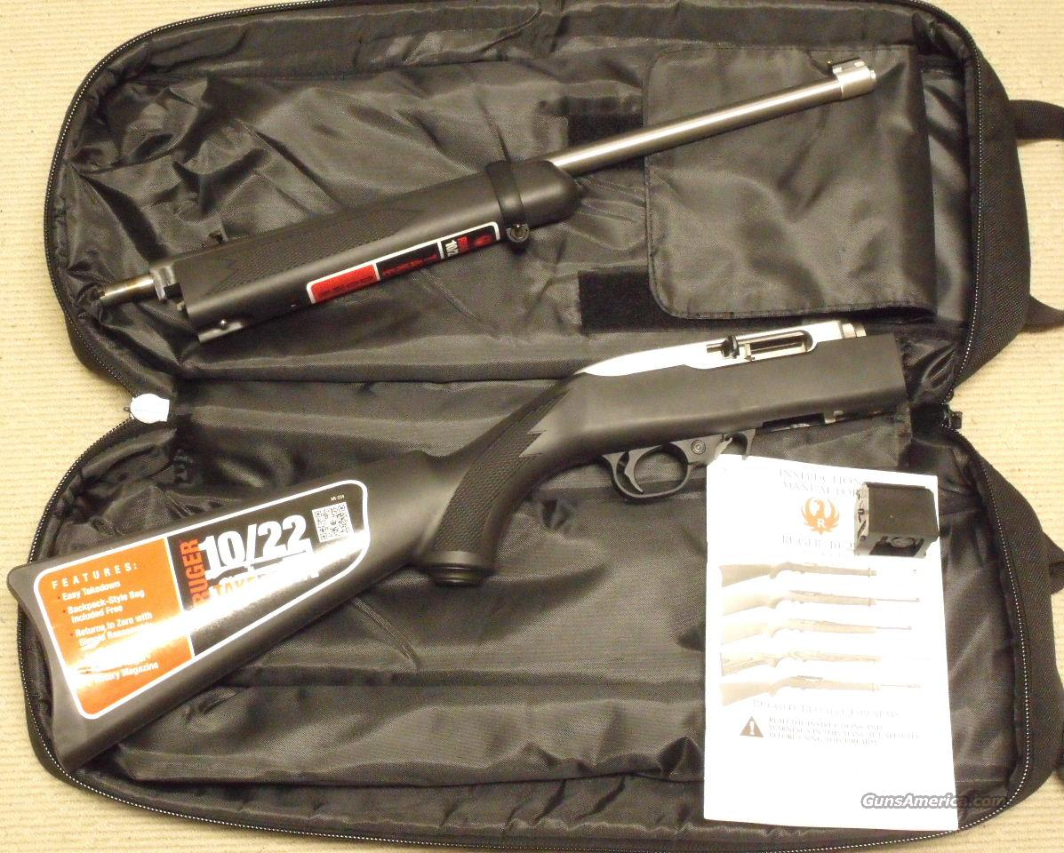 Ruger 10/22 Take Down #11100 NEW Stainless Synthetic .22 LR Soft Case  Guns > Rifles > Ruger Rifles > 10-22