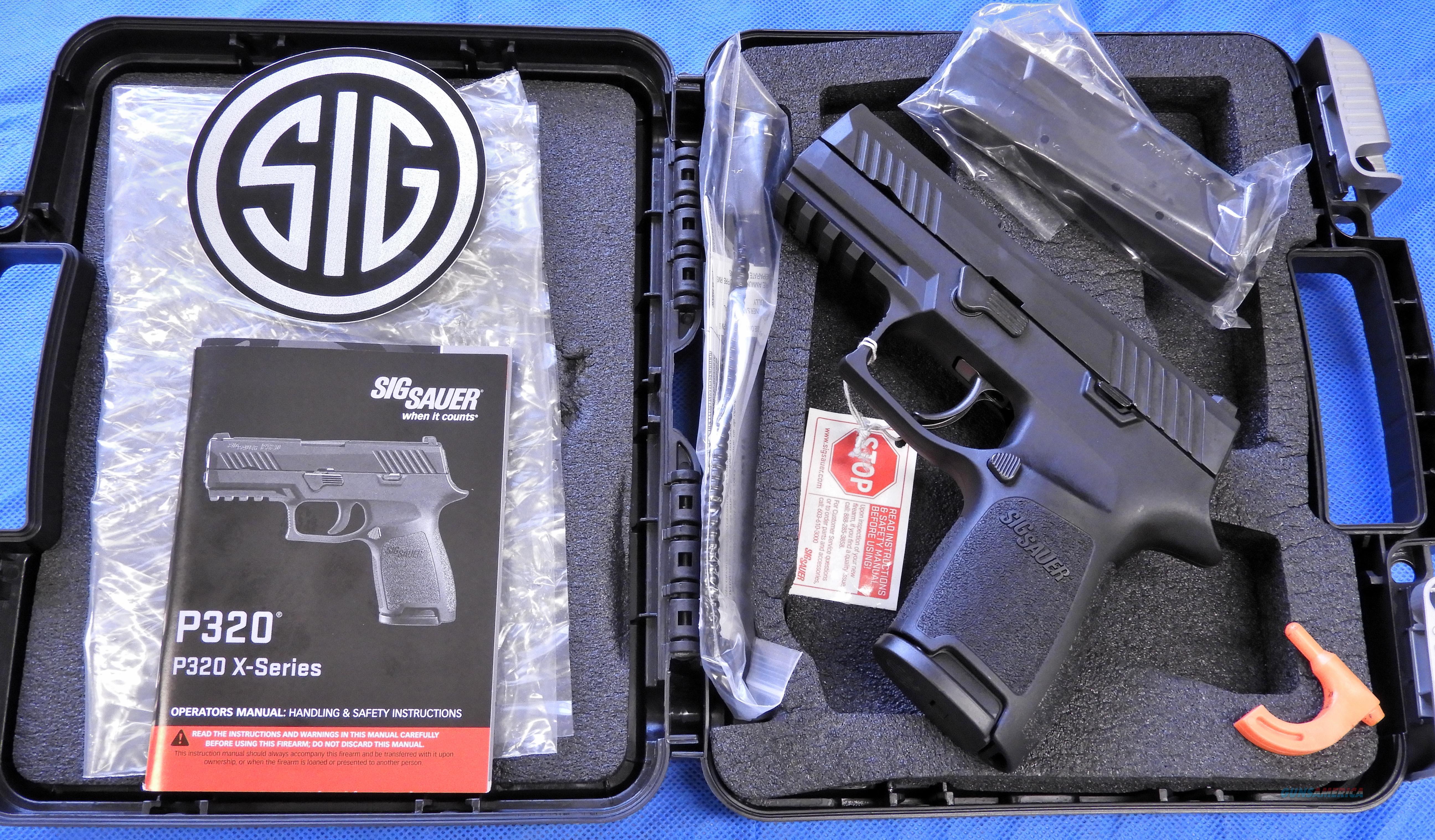 SIG Sauer P320 Compact .357 SIG Factory New Dealer Stock NIB Night Sights 2 Mags SIG Uncataloged Special  Guns > Pistols > Sig - Sauer/Sigarms Pistols > P320