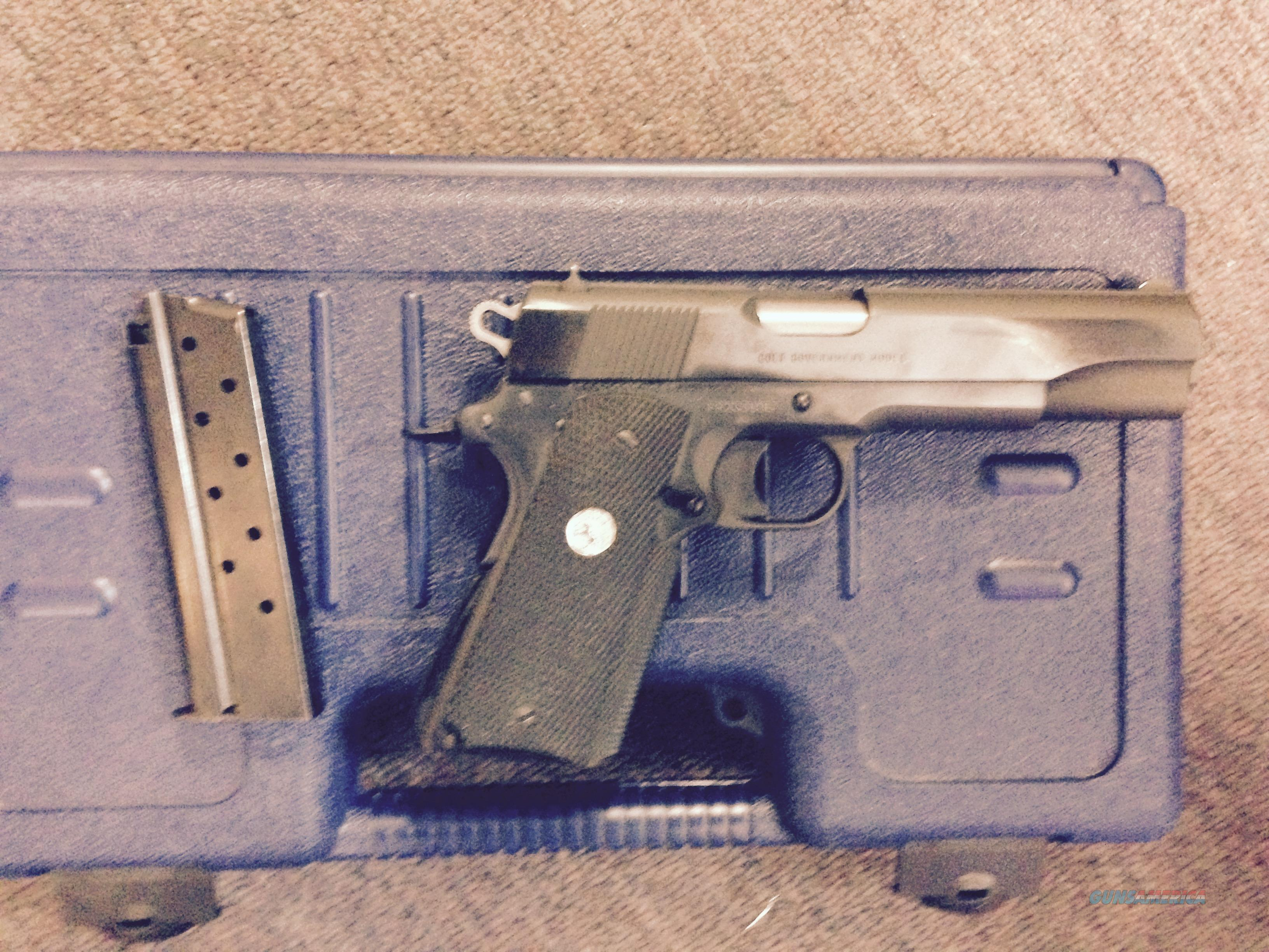 Rare Colt 1911 in 38 super with box and manual  Guns > Pistols > Colt Automatic Pistols (1911 & Var)