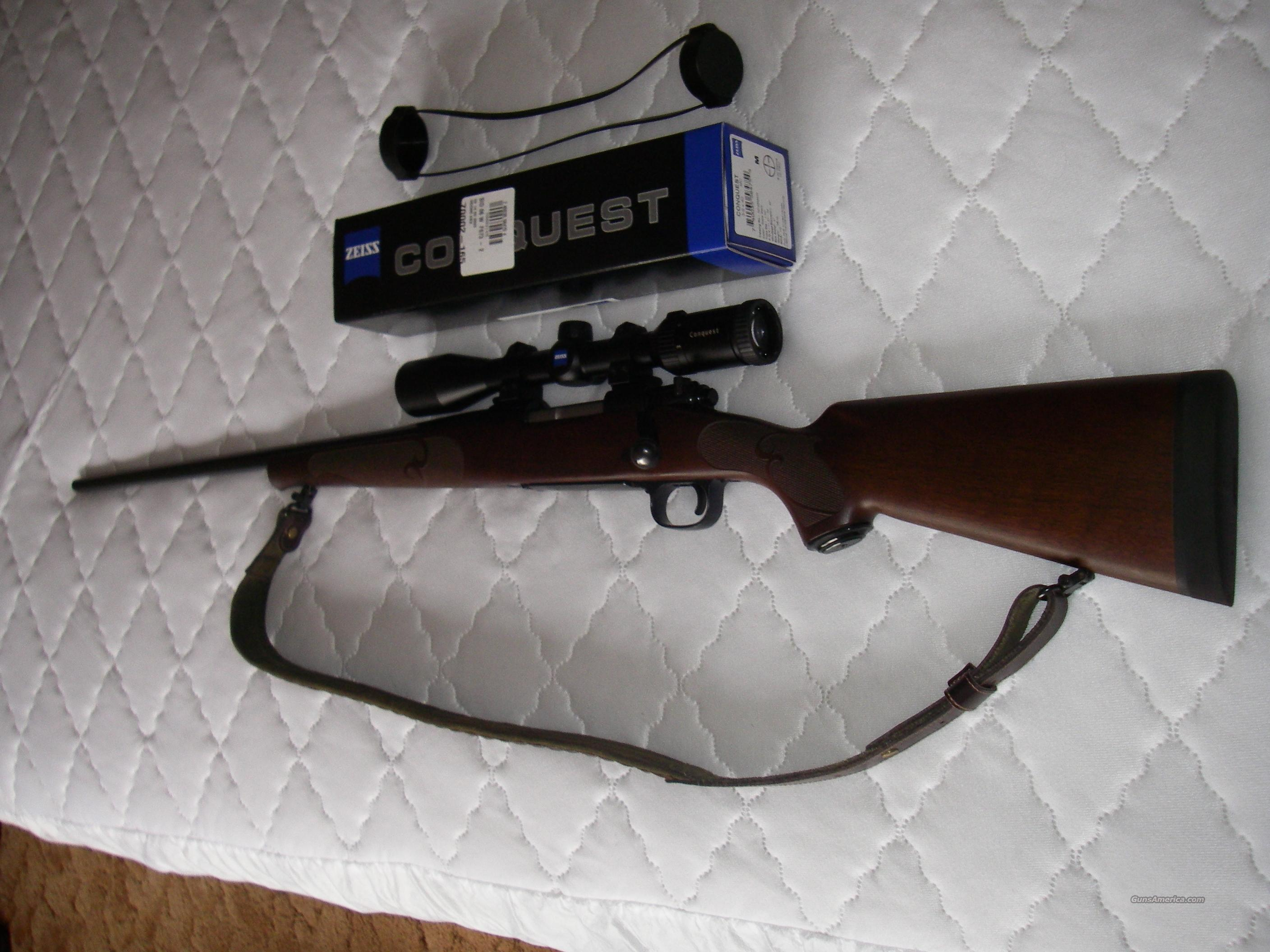 Winchester model 70 featherweight left hand rifle .270WSM, Zeiss rifle scope, warne rings and bases, custom strap and swivels LH  Guns > Rifles > Winchester Rifles - Modern Bolt/Auto/Single > Model 70 > Post-64