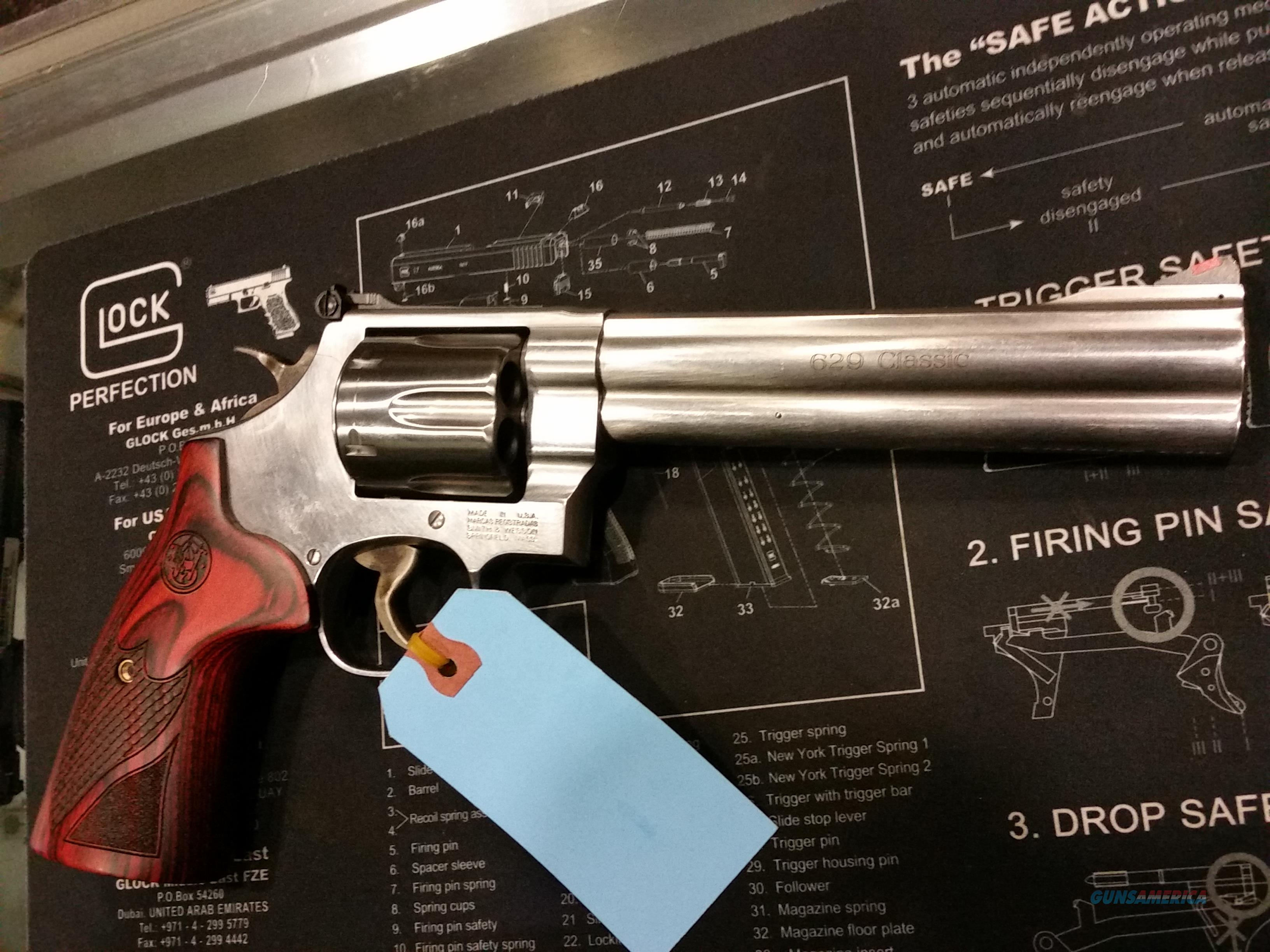 smith wesson 629 clasic 44 mag   Guns > Pistols > Smith & Wesson Revolvers > Model 629