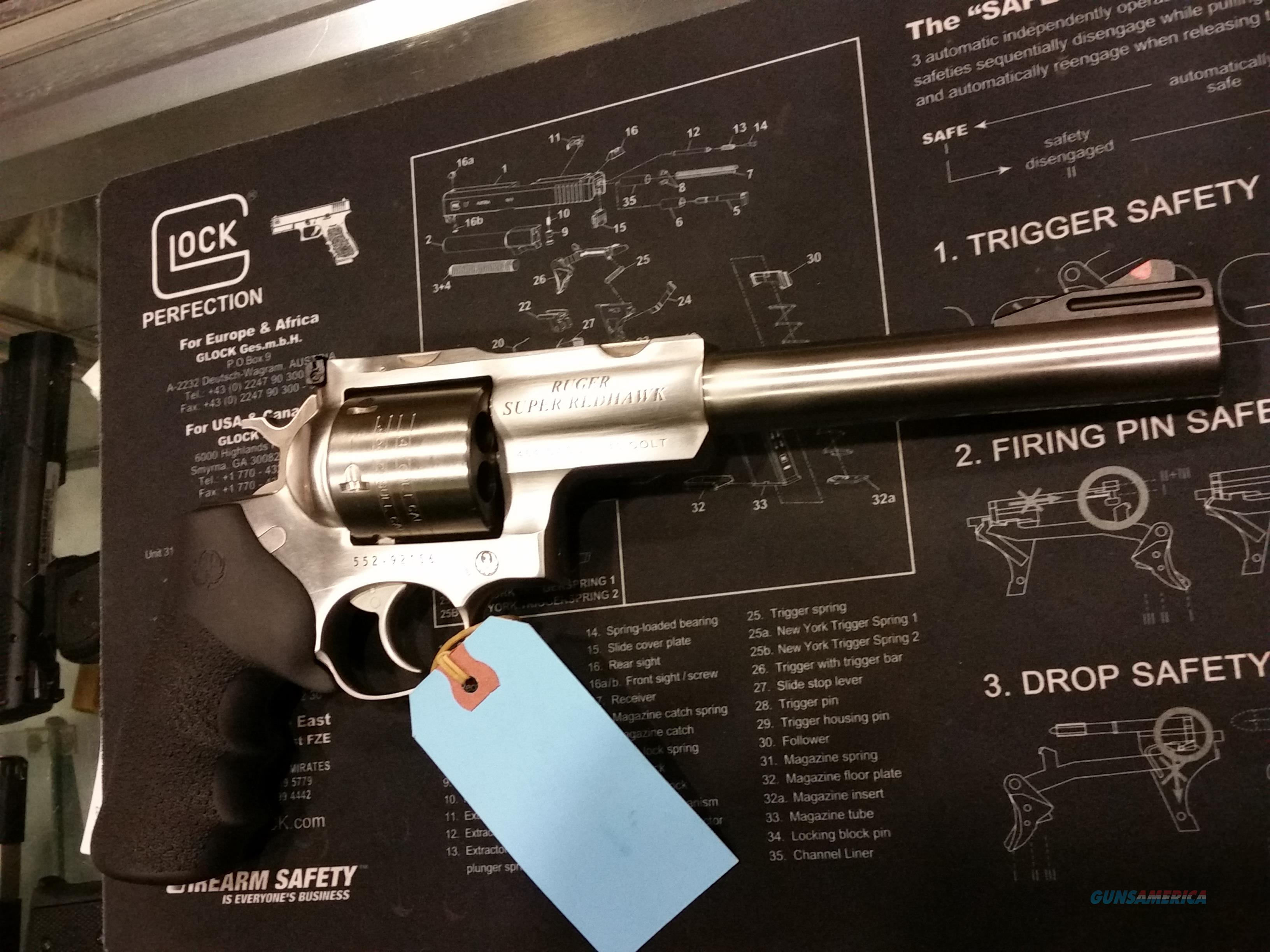 ruger super redhawk 454 casual 7.5 inch   Guns > Pistols > Ruger Double Action Revolver > Redhawk Type