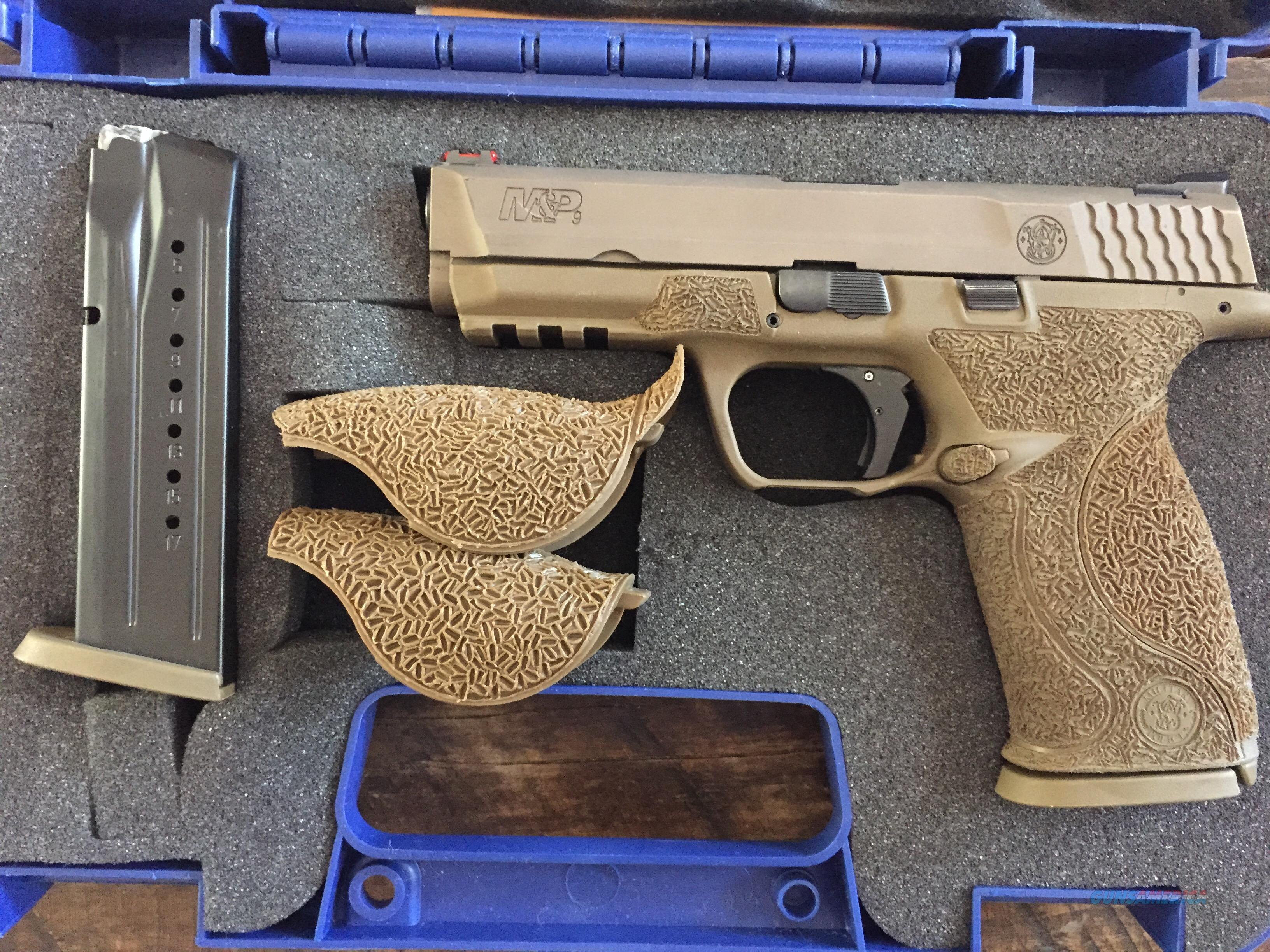 Smith and Wesson VTAC M&P 9mm - w/ MANY EXTRAS -    Guns > Pistols > Smith & Wesson Pistols - Autos > Polymer Frame