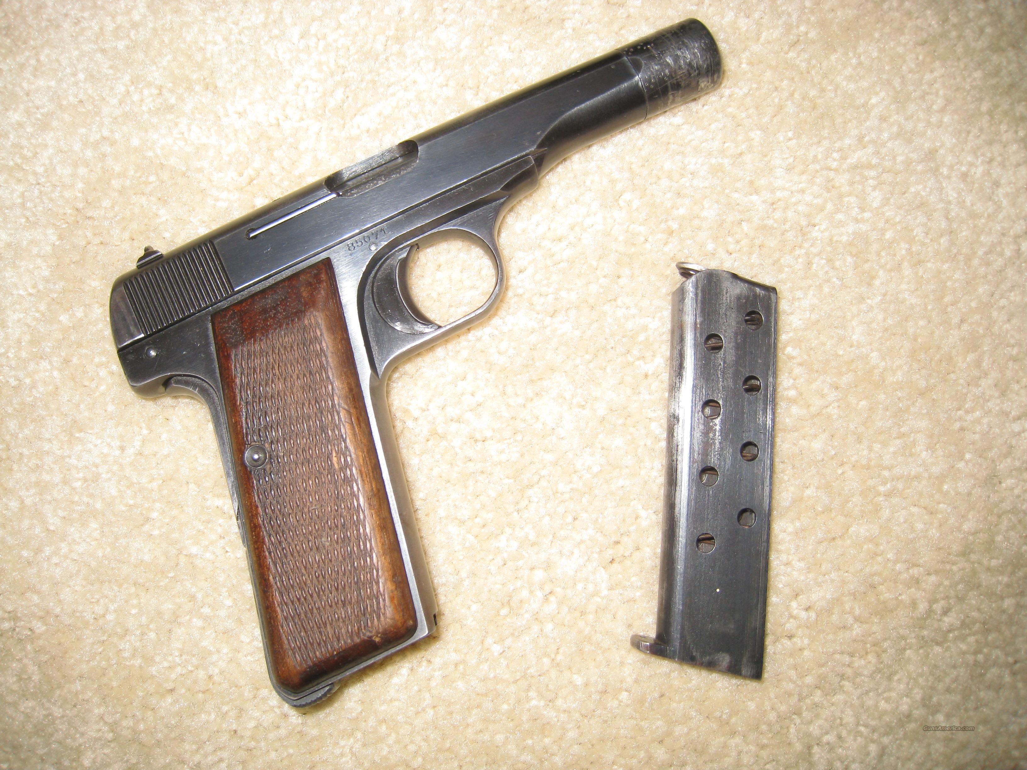 Browning 1922 Pistol WWII .32  Guns > Pistols > Browning Pistols > Other Autos